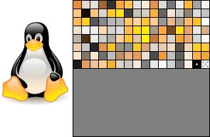 Image enregistrée au format Png-8 bits palette 128 couleurs