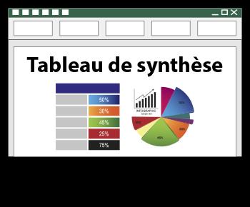 tableau de synthèse avec Excel