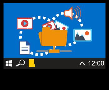deplacer les données dans Windows
