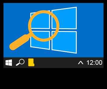 rechercher dans Windows
