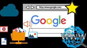 rechercher sur Internet avec Google