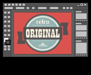 Dessin d'un logo avec Illustrator