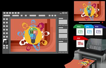 Exporter son dessin vectoriel pour un écran ou l'impression