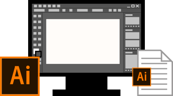 Interface Adobe Illustrator