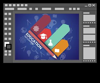 Logos éducation vectoriels avec Illustrator