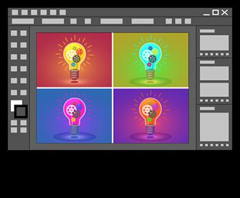 variantes de couleurs avec Illustrator