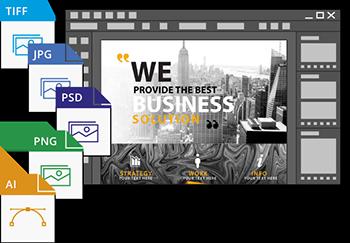 importer differents formats d'images dans un document InDesign