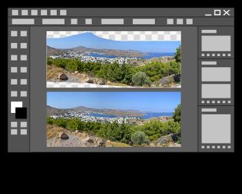 Réparation d'une image par la fonction : contenu pris en compte