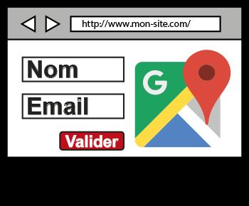 formulaire, Google Map
