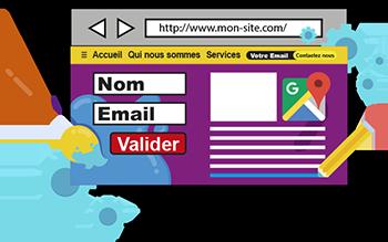 Personnaliser son site WordPress : formulaire, Google Map